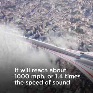 News video: NASA's Super-Quiet Supersonic Airplane