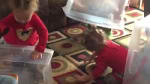 News video: Three Kids Don't Want to Play With Toys, Just The Boxes