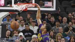 News video: Anthony Davis' Embarrassing Missed Dunk
