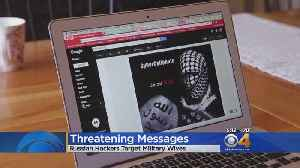 News video: Military Spouses Get Threatening Messages From Group Claiming To Be ISIS