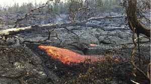 News video: Hawaii Volcano Leaking Lava, Toxic Gas