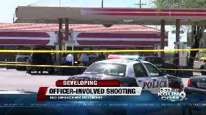 News video: Man wielding knife shot and killed by officers
