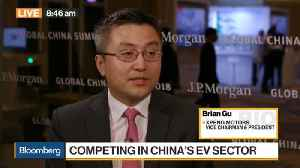 News video: China's Xpeng Motors Sees Market for EVs About to Take Off