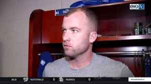 News video: 'Don't screw it up:' Duffy on what he told himself after being handed 10-run lead