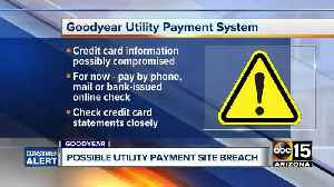 News video: Goodyear's online bill payment system possibly compromised