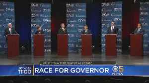 News video: Adultery And Sexual Harassment Come Up At California Gubernatorial Debate
