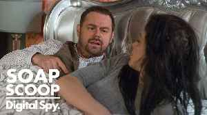 News video: EastEnders Soap Scoop! Mick ends up in bed with Hayley