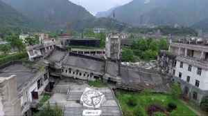 News video: The ghost town visited by millions