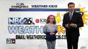 News video: Meet Olivia, our NBC26 Weather Kid of the Week