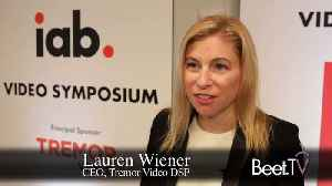 News video: Post-Taptica Deal, Tremor Video DSP Going Global As It Expands Data Partnerships