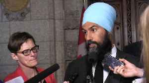 News video: NDP launching sexual misconduct investigation into Moore: Singh