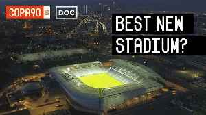 News video: Is This The Coolest New Stadium In The World?