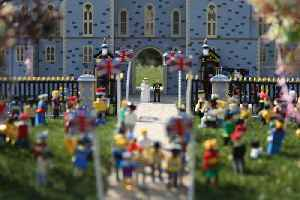 News video: U.K. Legoland Builds 60,000 Piece Replica of Royal Wedding