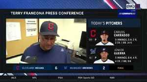 Terry Francona on Carlos Carrasco's complete game beauty: 'We needed that' [Video]