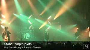 News video: VIDEO: Stone Temple Pilots play Stroudsburg's Sherman Theater