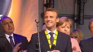 News video: Macron urges Europe to be more ambitious