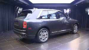 """News video: The """"Rolls-Royce of SUVs"""" cruises in to the market"""