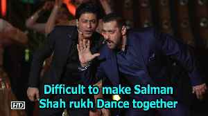 News video: Difficult to make Salman, Shah rukh Dance together: Mika Singh