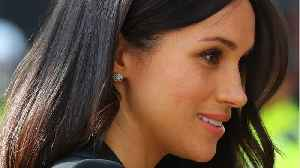 News video: Meghan Markle Swears By This $300 Facial