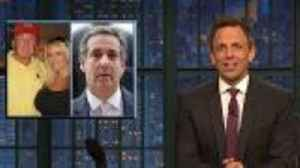 News video: Michael Cohen's Alleged Russia Ties Mocked by Late-Night Hosts | THR News
