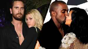 News video: How Scott Disick & Sofia Richie, Kim Kardashian & Kanye and Other Celebs Spent Valentine's Day