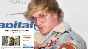 News video: Logan Paul MOCKS Petition to Have Him Banned from YouTube