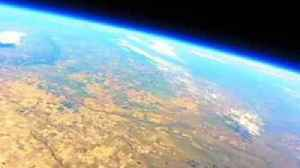 News video: GoPro Weather Balloon Flies Into Stratosphere Above Denver