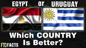 News video: EGYPT or URUGUAY - Which Country Is Better? | World Cup 2018