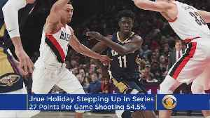 News video: Jrue Holiday Is Why The Pelicans Lead The Trail Blazers