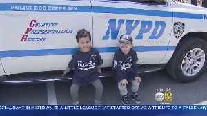 News video: Little League Brings Players Together With Police