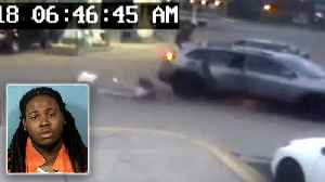 News video: 11-Year-Old Girl Jumps From Carjacked SUV: Cops