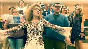 News video: Talented Student-Professor Choir Covers Beyonce's 'Halo' In A Capella Style