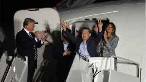 News video: One Freed N. Korean Prisoner May Have Not Known Trump Was President