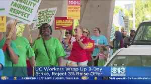 News video: UC Workers Strike Wraps Up