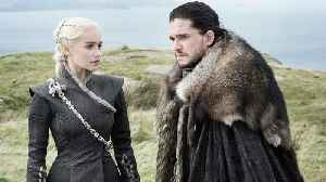 News video: Exclusive 'Game of Thrones' Stars Emilia Clarke and Kit Harington Cuddle in Adorable New Photo