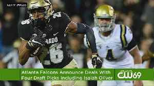 News video: Falcons Agree To Terms With 4 Draft Picks, Including Oliver