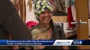 News video: Students share teacher's inspirational story with 'Ellen' during stage 4 cancer battle