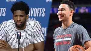 News video: Ben Simmons Had a SAVAGE Message for Joel Embiid After Sixers Loss | 2018 NBA PLayoffs