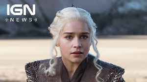 News video: Game of Thrones Was Originally Pitched as 'Shakespearian' and 'Biblical'