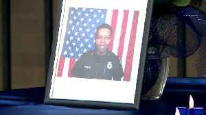 News video: 2 Arrested in Murder of Off-Duty Arkansas Police Officer Shot While Sitting in Home
