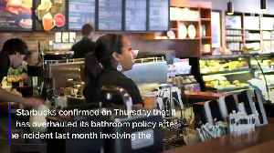 News video: Starbucks to Open Bathrooms to Public After Racial Controversy