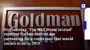 News video: A Credit Card by Apple and Goldman Sachs is in the Works
