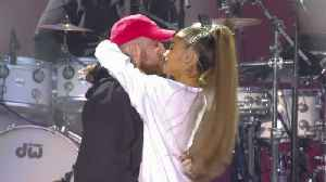 News video: Ariana Grande & Mac Miller Call It Quits After 2 Years