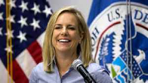 News video: DHS Secretary Nielsen doesn't deny report she almost quit after Trump tirade