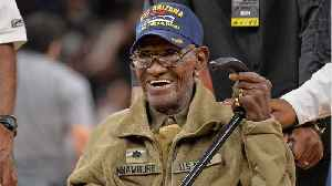 News video: America's Oldest Living WWII Veteran Turns 112, Still Smokes 12 Cigars A Day