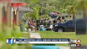Two men arrested after the SWAT team conducts drug bust [Video]