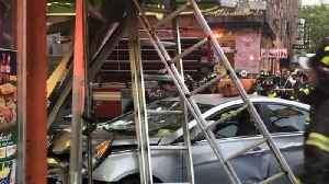 News video: Multiple Shoppers and Pedestrians Injured After Car Crashes Into Chelsea Deli