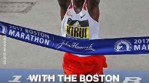 News video: The Boston Marathon Is Going To Help Feed Kids Worldwide
