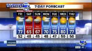 News video: Heat breaks record in Denver! Cooler and stormy for Mother's Day weekend