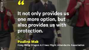 News video: Cathay Pacific Airlines Will Allow Flight Attendants To Wear Pants